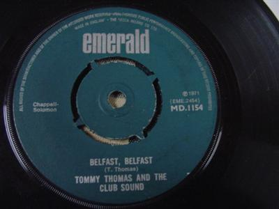 Emerald MD.1154 - TOMMY THOMAS & CLUB SOUND - BELFAST